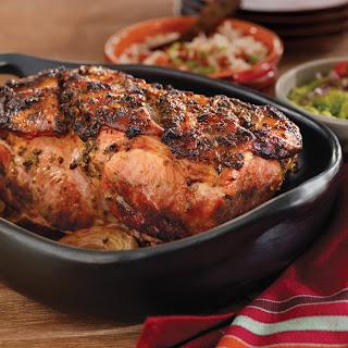 Roast Pork Shoulder Caribbean-Style.
