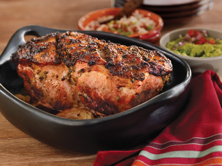 Roast Pork Shoulder Caribbean-Style Recipe