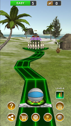 Code Triche Endless Bowling Paradise - Unique Bowling Game APK MOD (Astuce) screenshots 4