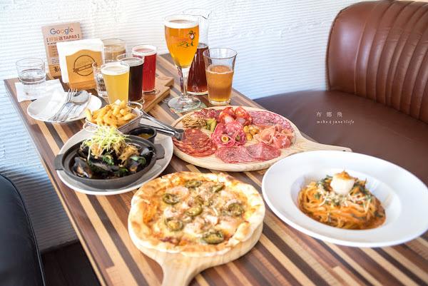 食-台北|布娜飛比利時啤酒專賣店(市民店)|多款比利時啤酒配上美味的異國料理,聚餐約會就是這裏了|餐廳風格好好拍殺快門的好地方