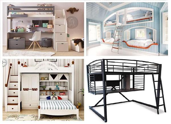 những mẫu giường tầng đẹp