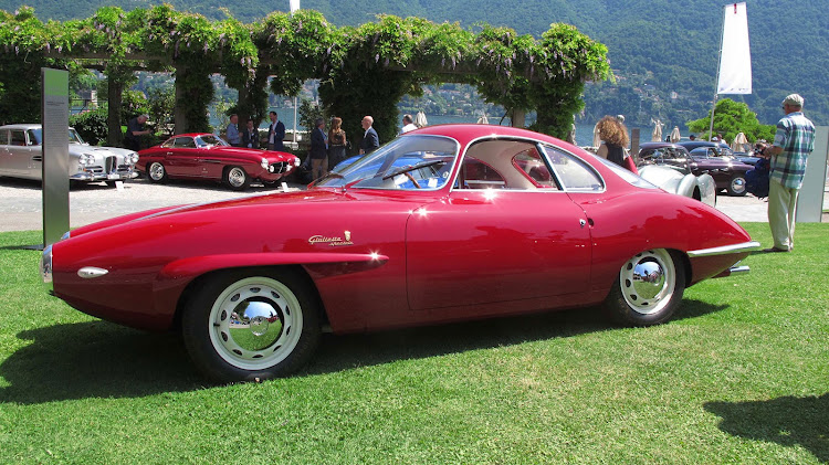 This 1957 Alfa Romeo Giulietta SS Prototipo won the coveted Best of Show from the jury