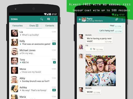 Free SOMA Messenger Guide screenshot 2