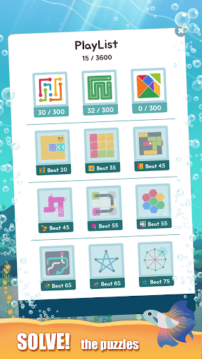 Puzzle Aquarium 31 screenshots 3