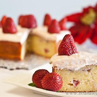 STRAWBERRY POTATO CAKE