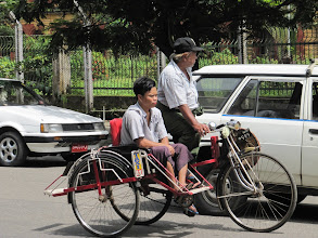 Photo: Year 2 Day 60 - Another Trishaw Taxi