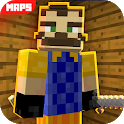 Maps Hello Scary Neighbor For MCPE icon