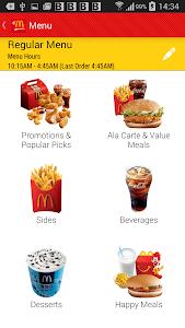 McDonald's McDelivery China screenshot 1