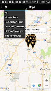 Henry County Treasure App- screenshot thumbnail