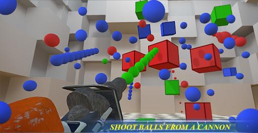 RGBalls – Cannon Fire : Shooting ball game 3D  captures d'écran 1