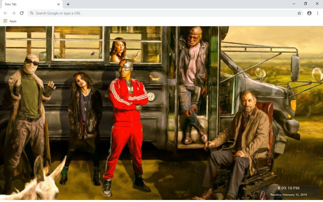 Doom Patrol New Tab & Wallpapers Collection
