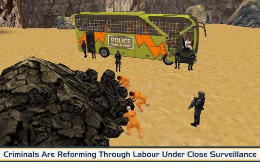 Angry Criminals Transport: Police Bus Sim 1.3 screenshots 4