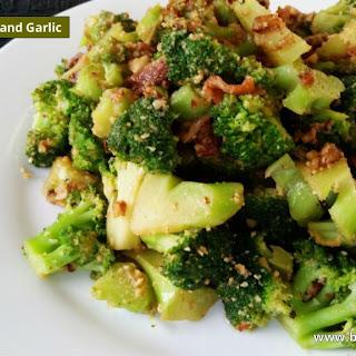 Broccoli With Bacon and Garlic