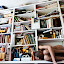 The Bipolar Photographer by Irvin Kelly - People Portraits of Men ( books, nude, man )