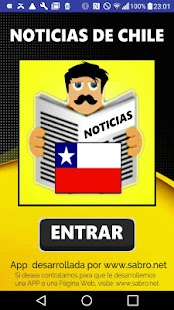 Noticias de Chile APP - náhled