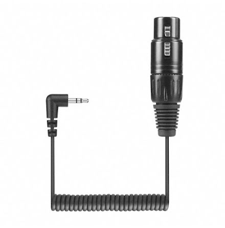 Cable KA 600 coiled 3-Pin XLR Female to Mini-Jack 3,5mm