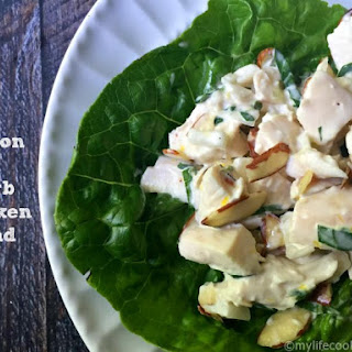 Lemon & Herb Chicken Salad with Almonds