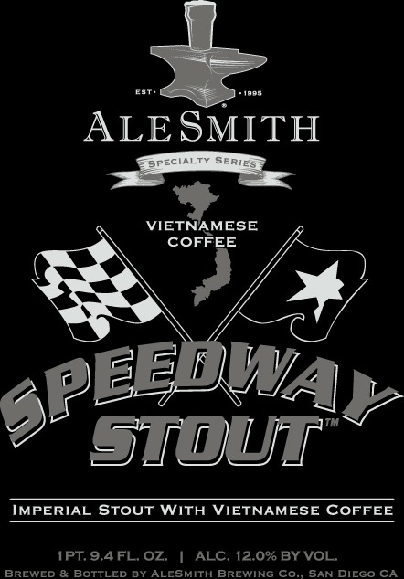 Logo of AleSmith Speedway Stout - Vietnamese Coffee