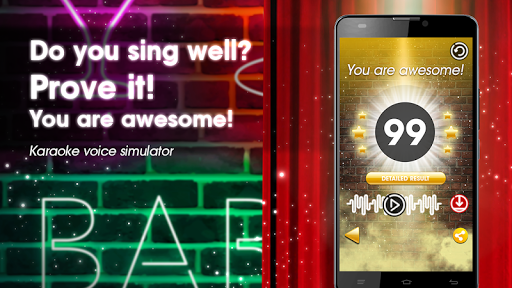 Karaoke voice sing & record screenshot 2