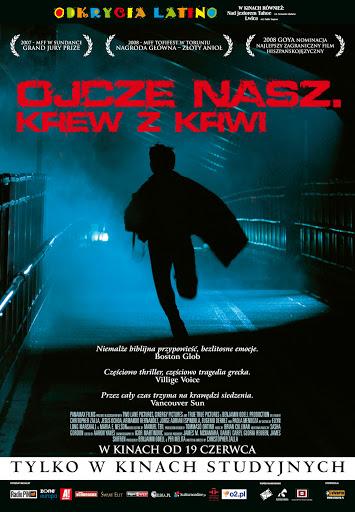 Polski plakat filmu 'Ojcze Nasz. Krew Z Krwi'