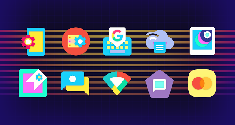 ULTRA - 80s Vaporwave Icon Pack Screenshot 14