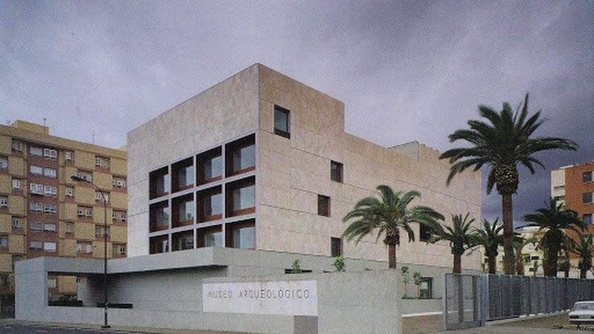 Vista del Museo Arqueológico desde Carretera de Ronda.