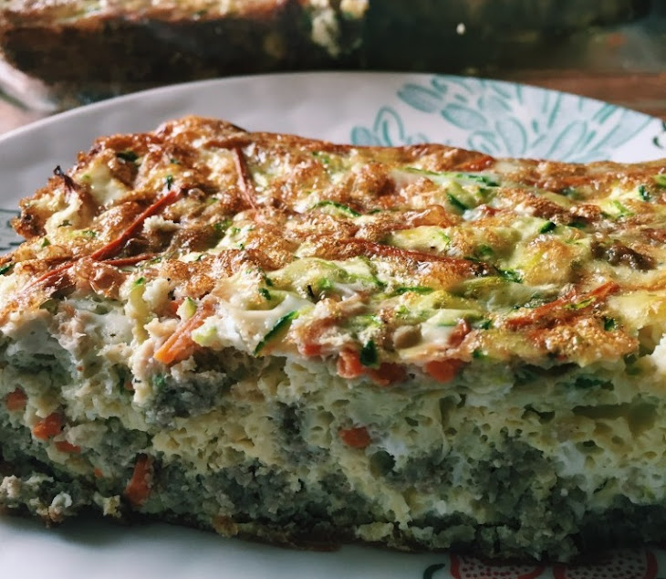 Sausage, Carrot & Zucchini Breakfast Casserole (Whole30) Recipe ...