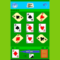 Solitaire 5 cells icon