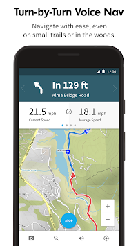 Komoot — Cycling & Hiking Maps APK screenshot thumbnail 2