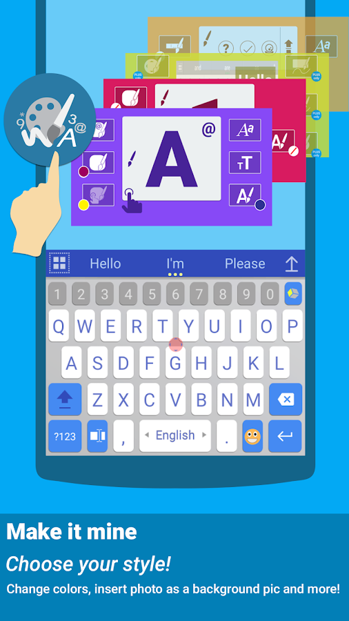 Spanish for ai.type Keyboard- screenshot