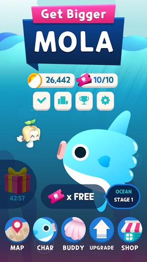 Get Bigger! Mola screenshots 1