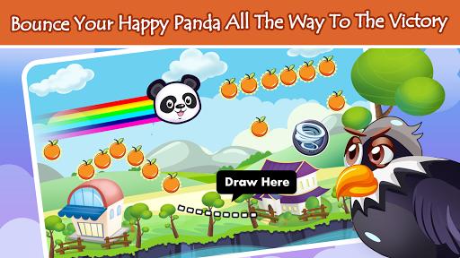 幸せなパンダ