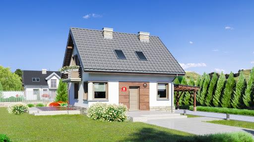 projekt Dom przy Wiosennej 8
