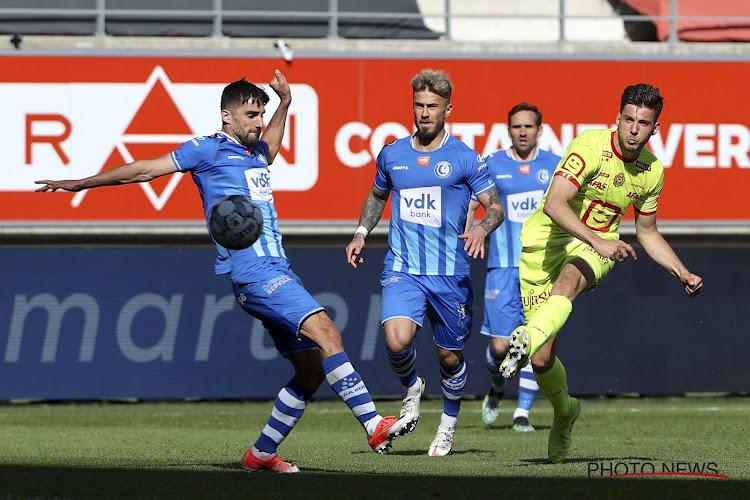 Gent wist dubbele achterstand uit tegen Mechelen, maar schiet weinig op in strijd om Europees ticket