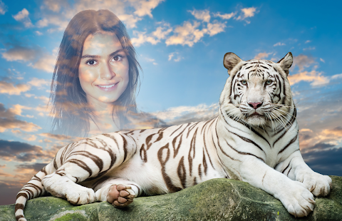 White Tiger Photo Frames - Apps on Google Play