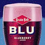 August Schell's Grain Belt Premium Blu Blueberry Lager