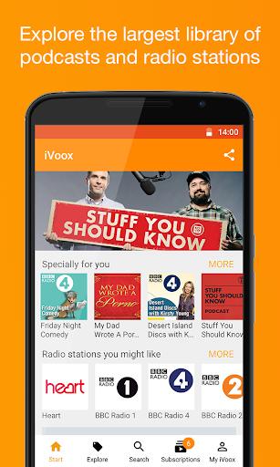 Podcast & Radio iVoox 2.230 screenshots 1