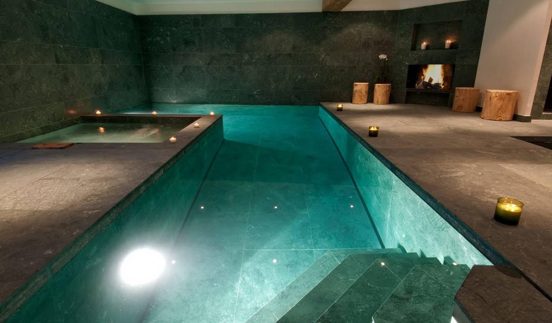 Chalet avec piscine Verbier