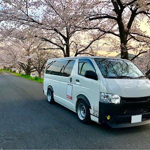 ハイエースバン TRH200V SUPER GL 2018年式のカスタム事例画像 keiji@黒バンパー愛好会さんの2019年05月01日00:47の投稿