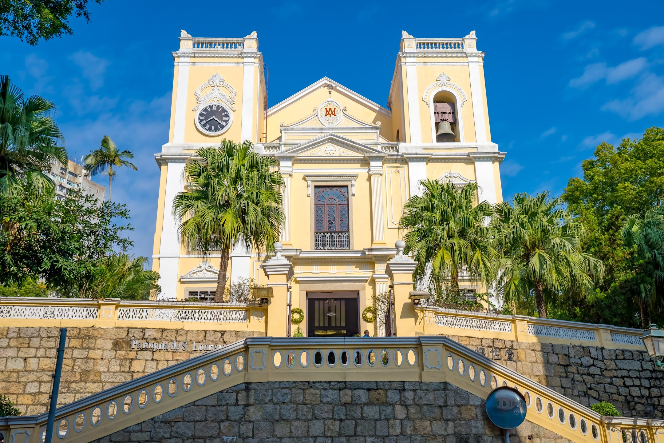 Macau St. Lawrence's Church/聖老楞佐教堂/Igreja de S. Lourenço3