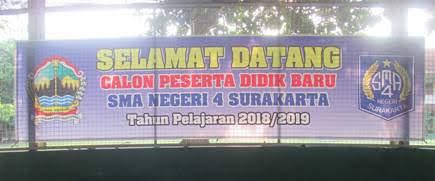 DAFTAR ULANG PPDB 2018 SMAN 4 SURAKARTA
