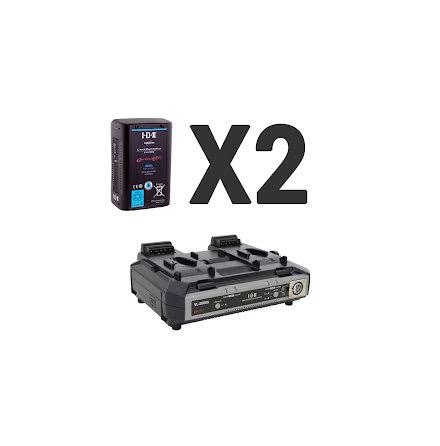 Endura 2x E-HL10DS + 1x VL-2000S