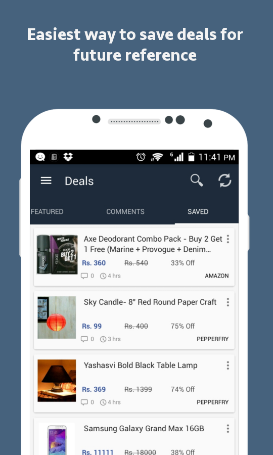 Thuttu - India Deals & Coupons- screenshot