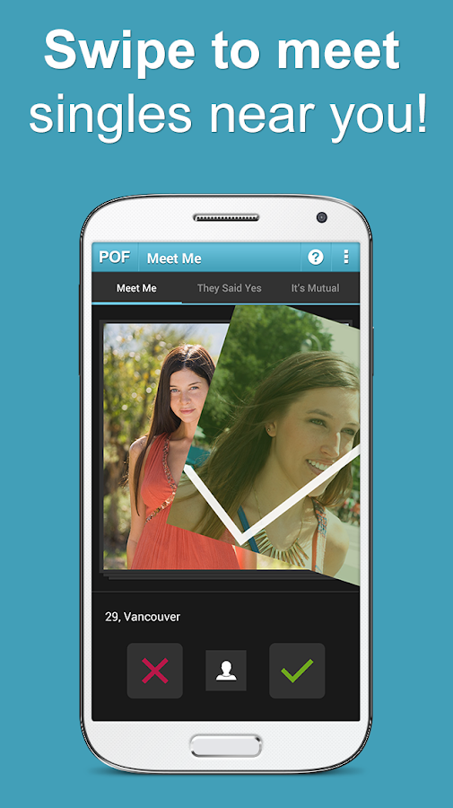 Most popular android dating app