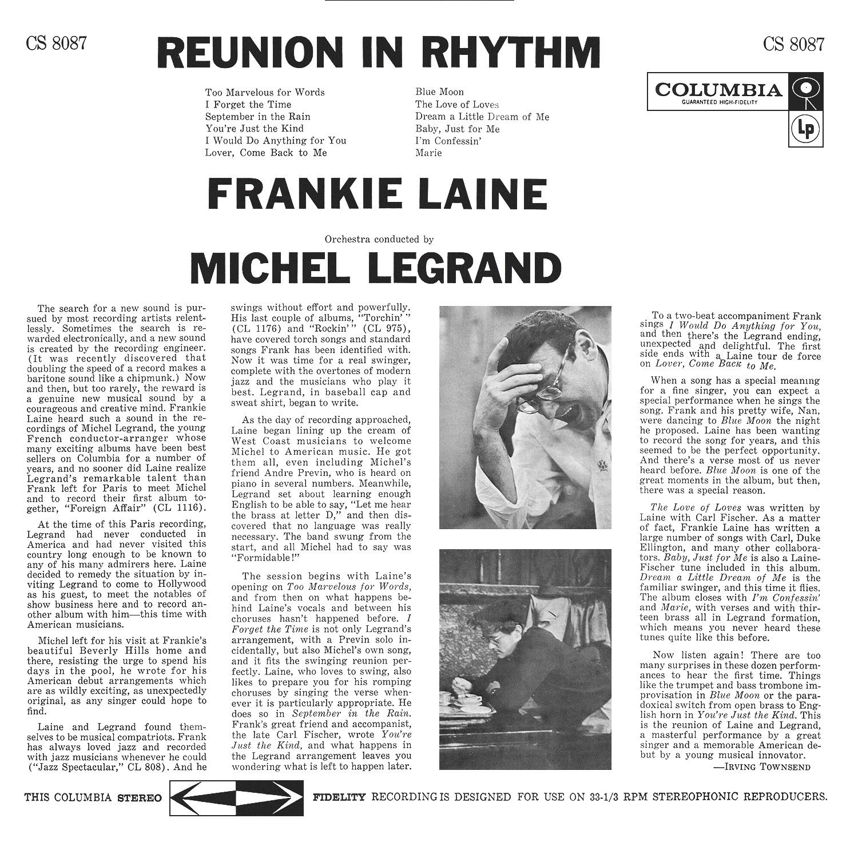 Frankie Laine, Michel Legrand