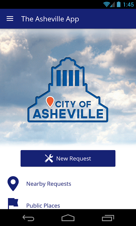 The Asheville App - screenshot