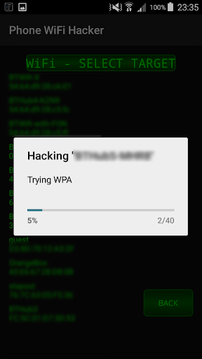 WiFi Hacker Tool Simulator 1 screenshots 1