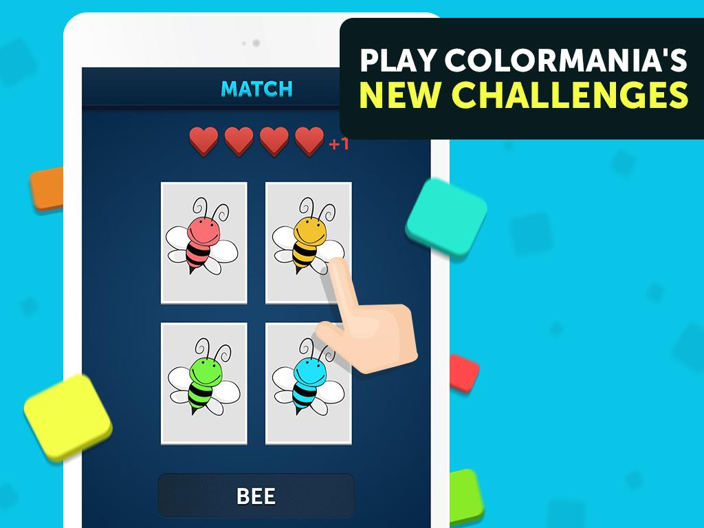 Colormania - Color the Logo!- screenshot
