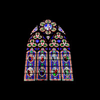 Vetrata in cattedrale