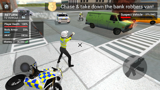 Police Car Driving - Motorbike Riding 1.07 screenshots 4